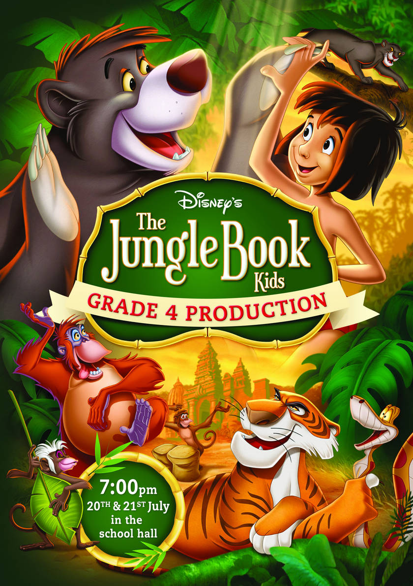 Jungle book production HR