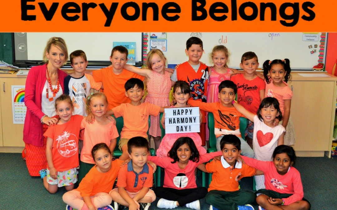 Harmony Day ' Everyone Belongs'