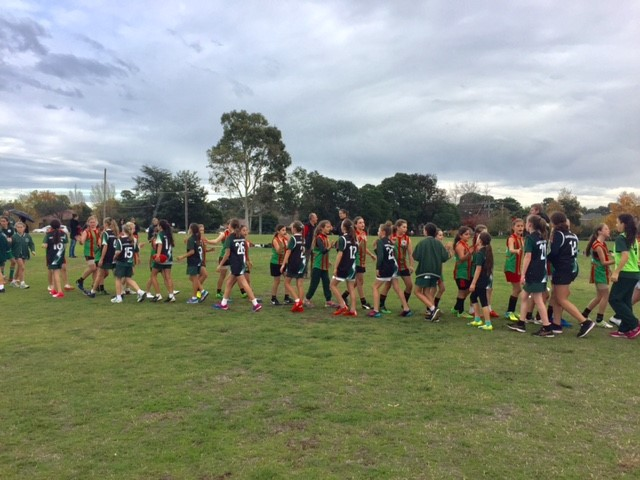 Girls Footy vs St Peters