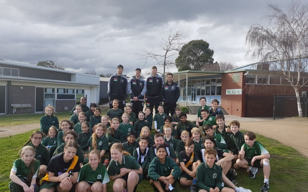Collingwood FC Comes to Visit!