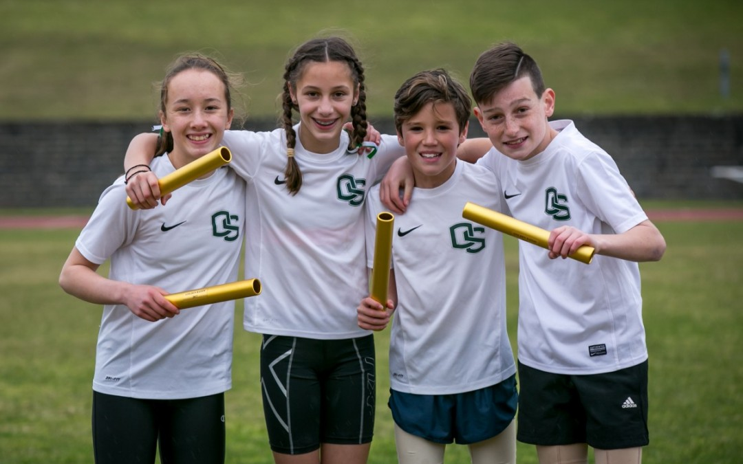 OSPS Star at Division Athletics