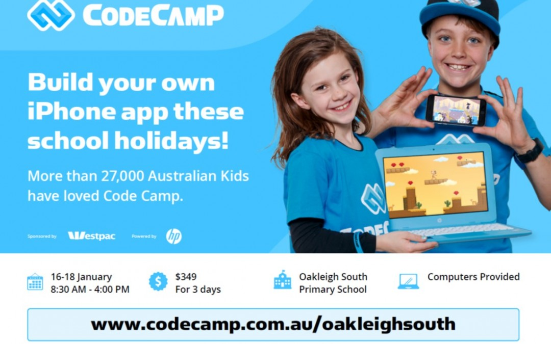 Summer Code Camps Registration Open