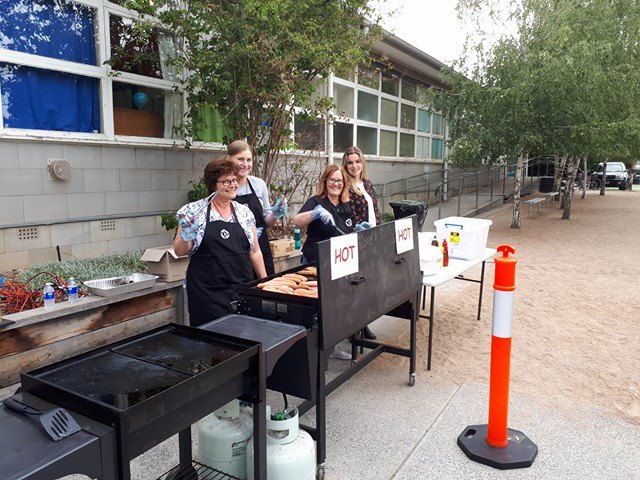 Prep Welcome BBQ Was Sizzling