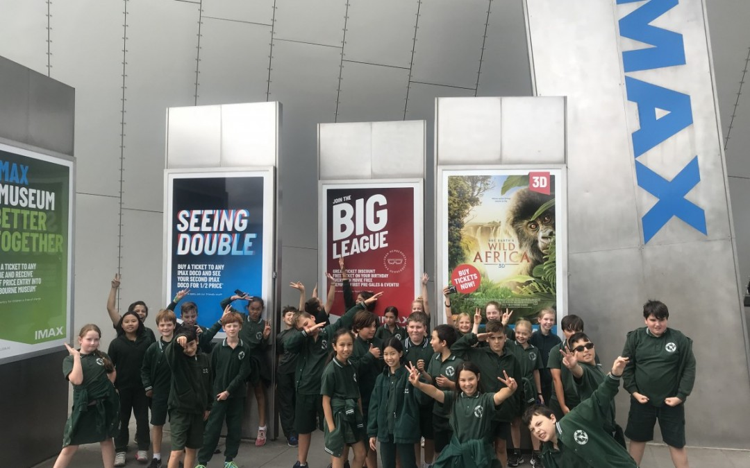 Year 5's at IMAX
