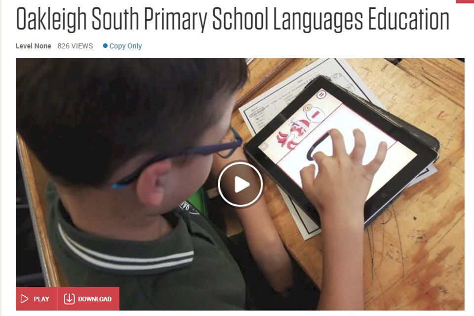 OSPS FEATURE IN A VIDEO MADE BY THE DEPARTMENT OF EDUCATION ABOUT HOW WE DELIVER JAPANESE!