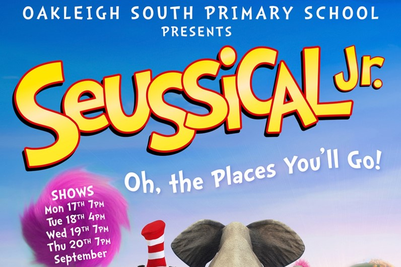 SEUSSICAL JNR – OH THE PLACES YOU'LL GO