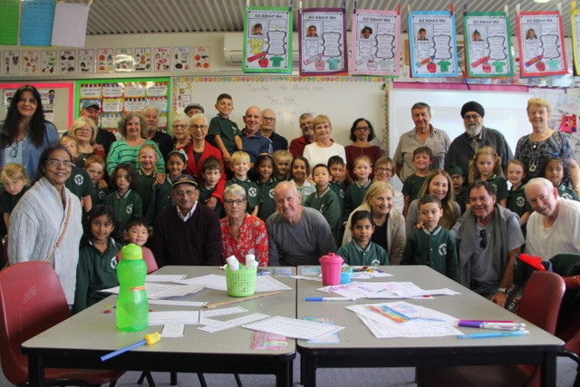 THE VERY GRAND YEAR 1 GRANDPARENTS DAY