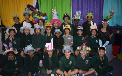 EASTER HAT PARADE ALL COLOURS