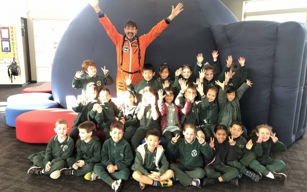 INFLATABLE PLANETARIUM VISITS YEAR 1's