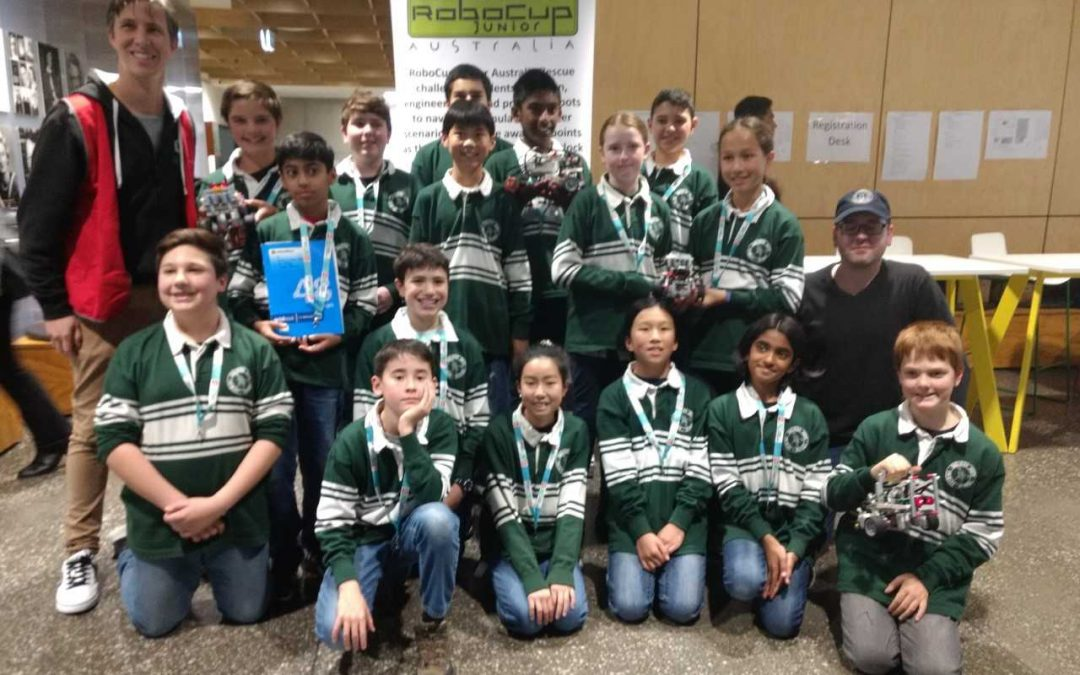 OSPS STAR IN ROBOCUP COMPETITION