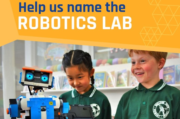 HELP US NAME THE ROBOTICS LAB