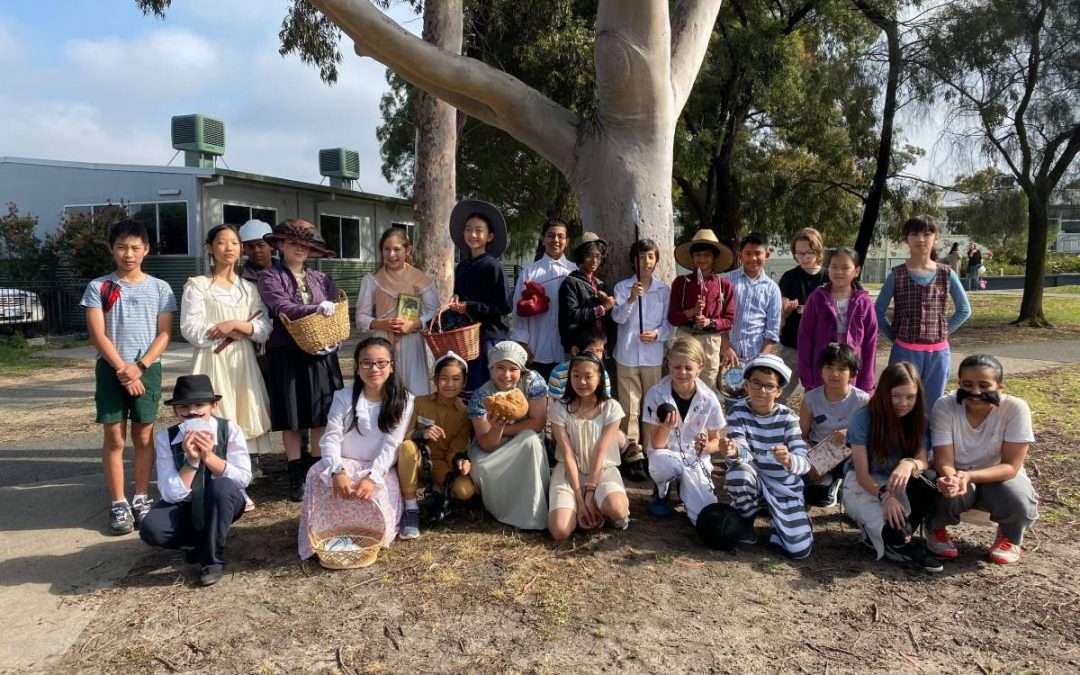 YEAR 5's 1800's DAY
