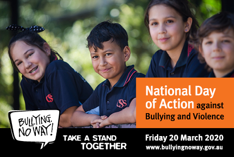 OSPS PROUDLY SUPPORTS BULLYING NO WAY DAY