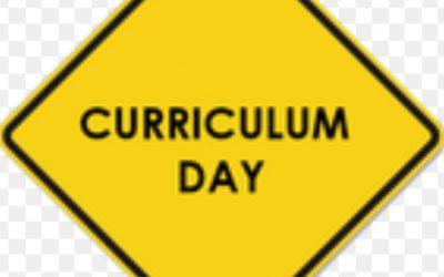 CURRICULUM DAY 25th JUNE