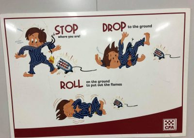 Stop Drop Roll Poster 2