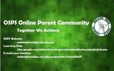 OSPS PARENT ONLINE COMMUNITY GROUP