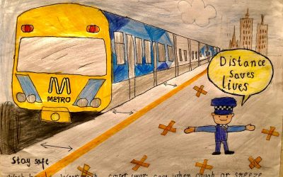 VOTE FOR MIA IN THE METRO TRAINS POSTER COMPETITION