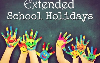 EXTENDED SCHOOL HOLIDAYS NEXT WEEK – 13th to 17th JULY