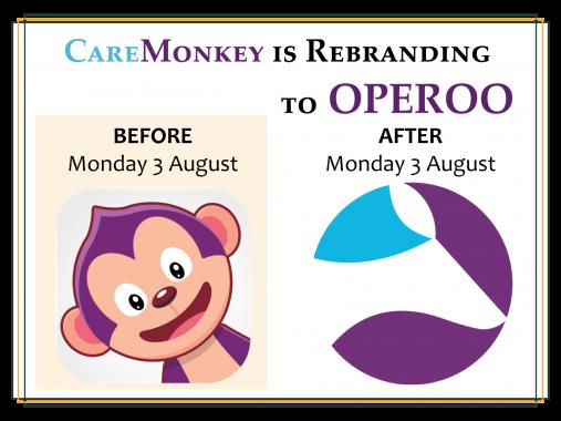 REMINDER CAREMONKEY REBRANDING TO OPEROO