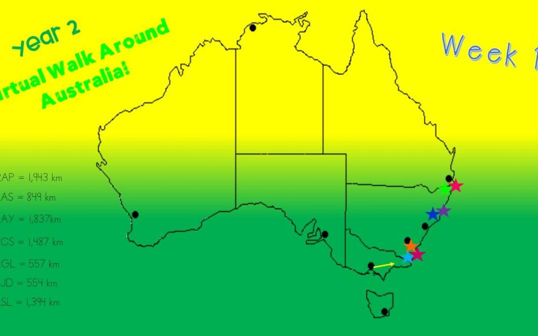 YEAR 2 VIRTUAL WALK AROUND AUSTRALIA