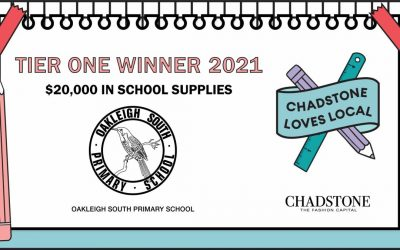 OSPS WINS $20,000 CHADSTONE LOVES LOCAL COMPETITION